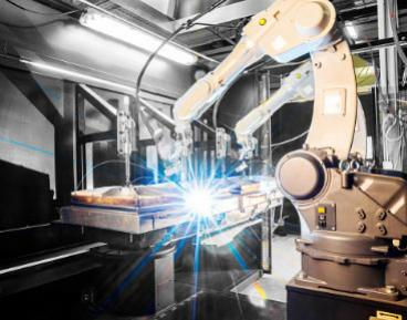 Robots de soldadura